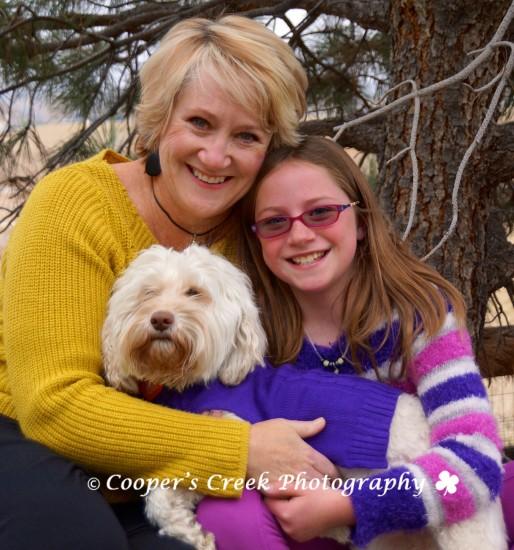 Lisa Rosie and Sweetie